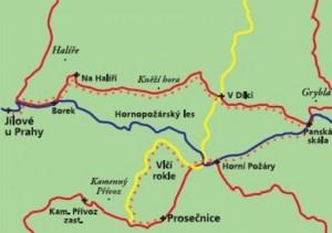 Mapa procházek